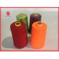40/2 5000Y Spun Polyester Thread Bright Color High Tenacity / Coats Polyester Thread Manufactures