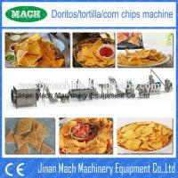 Quality automatic twin screw fried crispy tortilla corn chips extruder for sale