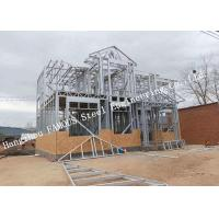 Prefabricated Q235b Light Steel Villa with Cladding Systems for Residential House Manufactures