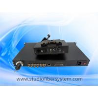 SDI Tally Remote Ethernet PGM audio Intercom over fiber for live link studio system Manufactures
