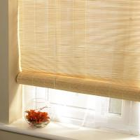 China Roman Style Outdoor Pvc Roll Up Blinds Wear Resistant Compact Framework on sale