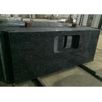 China Blue Pearl Granite Island Top Granite Stone Countertops Anti - Scratch 37 X 96 Size on sale