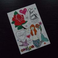 Full color temporary tattoo Manufactures