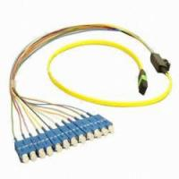 Computer Network LC / SC Fiber Patch Cord In Female-Female , MPO Patch Cable Manufactures
