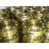 ANSI B16.5 forge steel RTJ WN flange Manufactures
