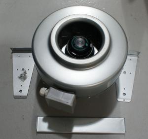 Plastic Inline fan / Inline duct fan/centrigugal blower Manufactures