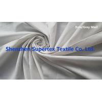 Garment Cotton Twill Fabric Wholesale Yarn Dyed Grey Marl Color AZO FREE Manufactures