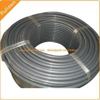 12.5mm Gray color Reinforced PU Round Belt, polyurethane Belt with reinforced cord Manufactures