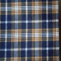 red black check pattern fabric/plaid/stripe tartan shirt fabric 100% cotton yarn dyed flannel fabric price Manufactures