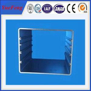 6005/6063 T5 square extruded aluminium alloy profiles for aluminum tube Manufactures