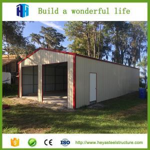 China Car parking long large span steel structural prefab workshop buildings on sale