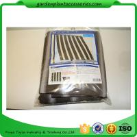 Multifunctional Garden Shade Netting / Plant Shade Cover For Plant Protect 1.8 * 2.1m Brown stripes Manufactures