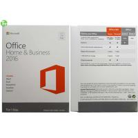 China Microsoft Office 2016 Pro Home and Business for Mac PKC Version on sale