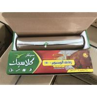 Silver Color Household Aluminium Foil 30cm Width Food Safe For Storing / Packing Manufactures