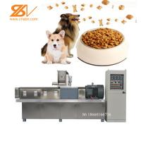 China Dog Pet Food Extruder Production Machine 38CrMoAlA Screw Material on sale