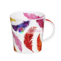 cramic mug couple cup coffee cup ceramic cup gold feather 480ml Manufactures