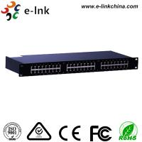 24 Ports 10 / 100 / 1000M Ethernet POE Switch , Power Over Ethernet Switch LNK-SPD2400G Manufactures