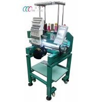 Automatic operation Single Head 12 Needles Cap / Shirt Embroidery machine Manufactures