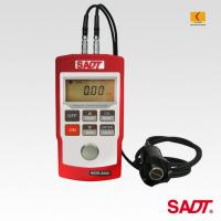 4 digits LCD Handheld Ultrasonic Thickness Gauge SA40+ with normal and multiple echo(MEC)  mode in red or blue color Manufactures