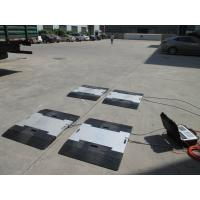 Crane Truck Axle Scales / Weighbridge For Road Transportation , High Accuracy Manufactures