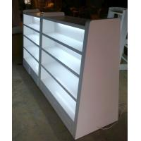 Steel Or Wood Department Store Gondola Display Stands Supermarket Equipment Manufactures