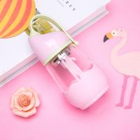 Cute 360ml Volume Anti Colic Baby Glass Water Bottle Pp Lid Eco - Friendly Manufactures