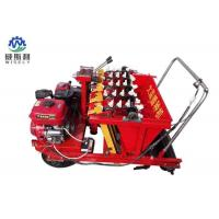 4 Row Garlic Planting Machine 0.5-0.8 Acre / H Productivity Plant Spacing Adjustable Manufactures