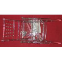 Transparent Plastic Resin Clear Chiavari Chair , Disassembled Event Chair Manufactures