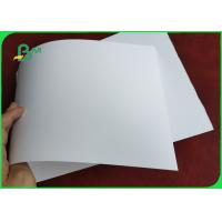120GSM 150GSM Silk Matt Coated Paper High Whiteness Non - Glare For Name Cards Manufactures