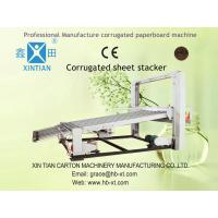 Security Electric Paperboard Stacker Machine 1600mm Height Manufactures