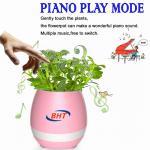 Multifunction Led Flower Pots 3.7V , Iluminated Plant Pots Music Faceplate Manufactures