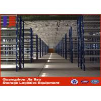 High Performance Heavy Duty Metal Storage Shelves Multi - Tier Racking System Manufactures