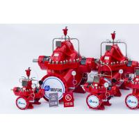 Red Color 2000gpm Diesel Engine Driven Fire Pump Set Used In Building Manufactures