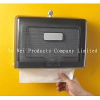 China Wall Mounted M Fold Hand Towel Dispenser Toilet Paper Holder Tissue Dispenser on sale
