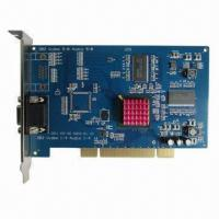 DVR Card, Techwell 5864 chipset, D1 full real time recording, 4ch video input, 4ch audio input Manufactures