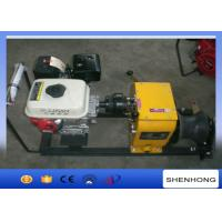 5.5HP Fast Speed Gas Engine Powered Winch 30KN Capacity 840×600×500 mm Manufactures