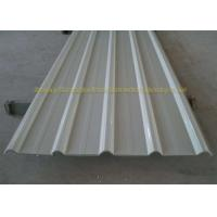 China 0.12mm - 0.8mm Color Coated Corrugated Metal Roofing Sheet Building Material on sale