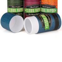 Custom Printing Blue Red Paper Tube Packaging For Gift and Food Packaging Manufactures