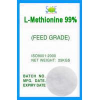 White L-Methionine Powder Animal Feed Grade 99% Pure Amino Acids SAA-METL99 Manufactures