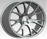 Silver Rim  20 Inch Alloy Wheels Machined Face / Silver  With SRT Manufactures