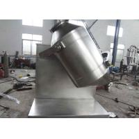 Medicine Powder Industrial Powder Mixer , Rotary Dry Powder Mixing Equipment Manufactures