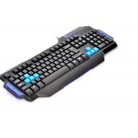 Entry Level Comfortable Multimedia Computer Gaming Keyboard Light Up Manufactures