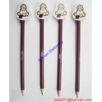 China new wholesale HB wooden pencil with shape eraser good for student on sale