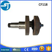 China Changfa CF118 CF139 diesel engine forged steel crankshaft manufacturers on sale