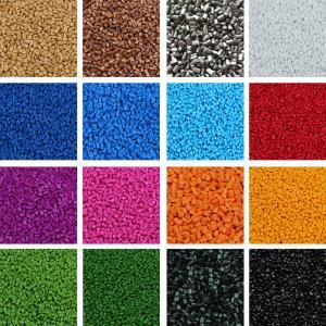 China Good Compatibility Plastic Color Masterbatch , Plastic Filler Masterbatch on sale