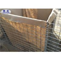 Stackable Flood Contro Retaining Wall Low Carbon Steel Iron Wire Material