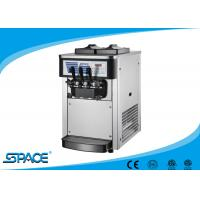 Small Table Top Commercial Ice Cream Machine With Low Noise Twin Twist Flavor Manufactures