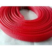 Flame Resistance Flexo Pet Expandable Sleeving For Wire Harness Protection Manufactures