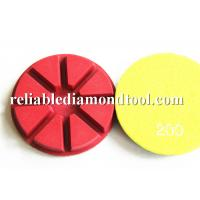 "Colored 4"" Diamond Floor Polishing Pads MAX RPM4500 For Polishing Machine Manufactures"