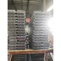 Quality Customized OEM Aluminum Extrusion Profiles Silver Anodized Heatsink High Speed for sale